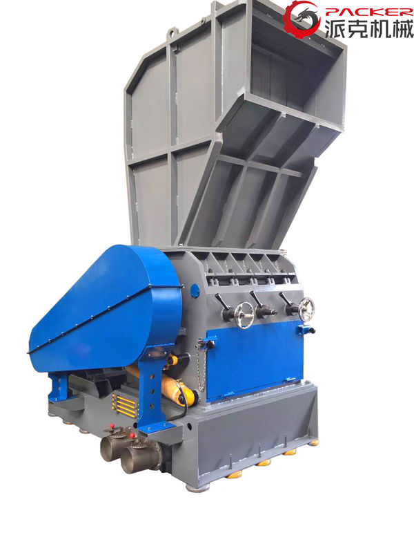 Custom Voltage Plastic Crushing Machine , Waste Plastic Crusher 300-2000Kg/H