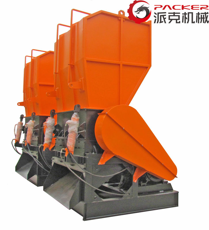 PC ABS Waste Plastic Crushing Machine , Crusher Plastic Machine 800*600mm Inlet
