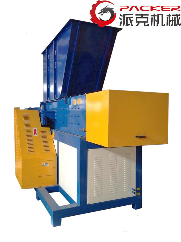 75kW Plastic Recycling Shredder Films Hard Materials High Economic Efficiency