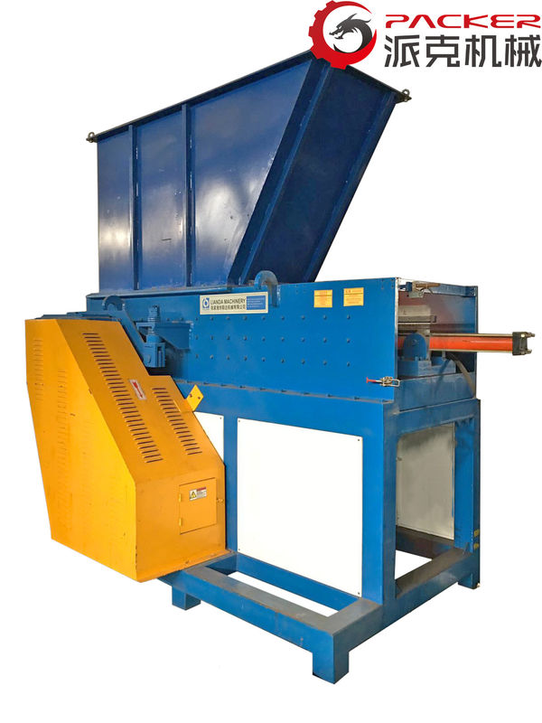 Hydraulic Feed Industrial Plastic Shredder SKD-II Blade 650*1050mm Feeding Mouth