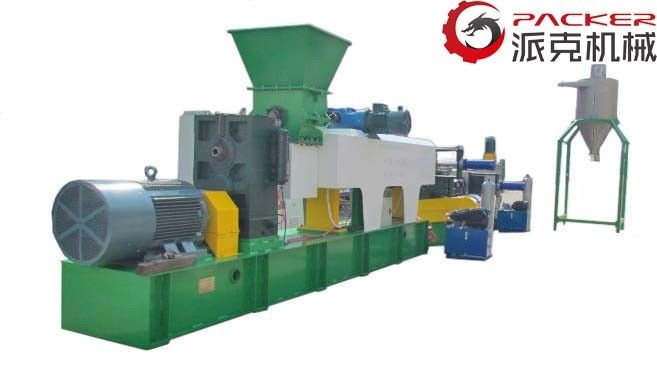 Hydraulic Plastic Recycling Granulator Machine , Industrial Plastic Granulator PLC