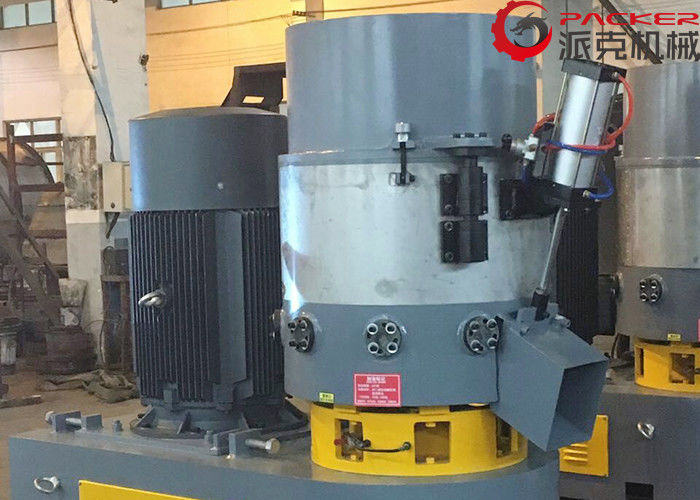 Durable Plastic Granules Making Machine , Plastic Film Agglomerator Stainless Steel Body