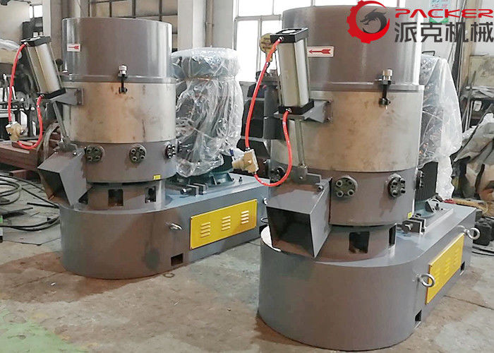 Custom Color Plastic Agglomerator Machine Granules Production High Output